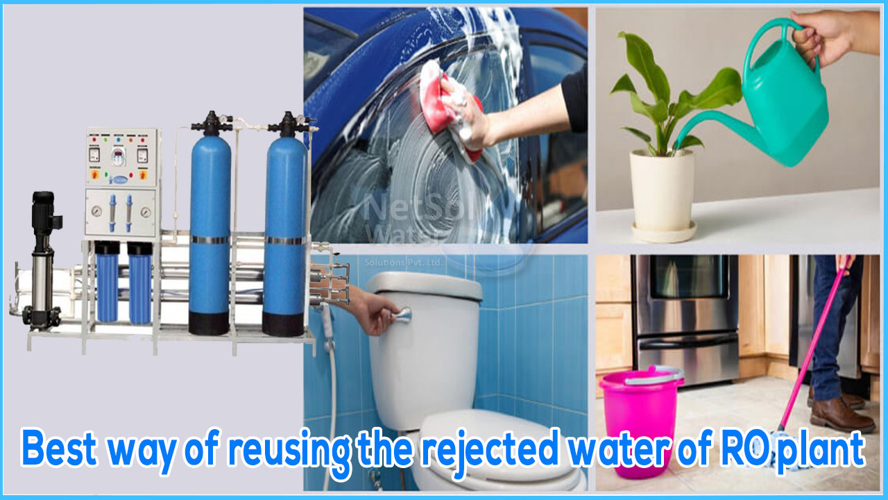 commercial ro manufacturer, best way to save rejected water, how to save