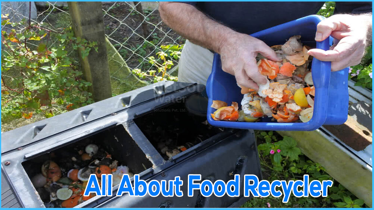 what is food recycler, food recycler manufacturer in India, working of food recycler
