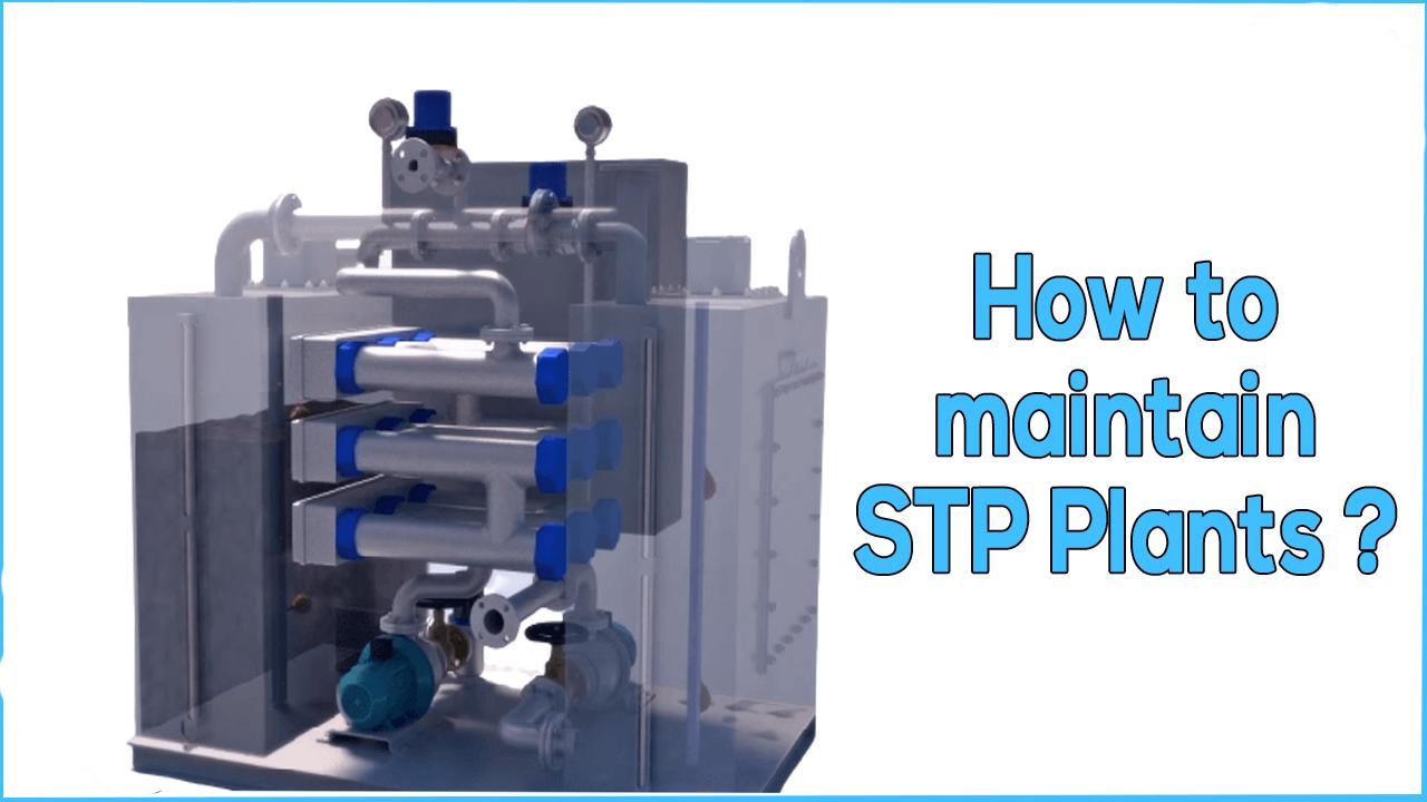 stp maintenance, sewage treatment plant maintenance, stp amc