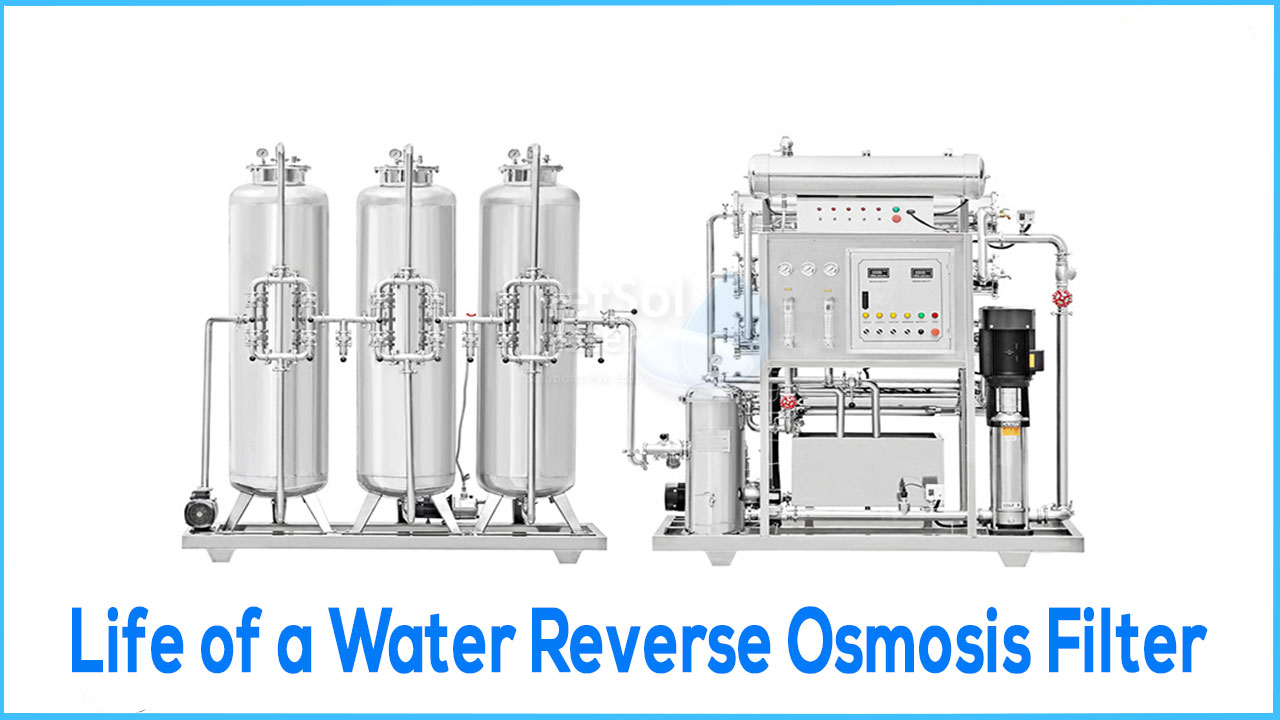 ro filter lifespan, life of commercial ro plant, water filter plant life