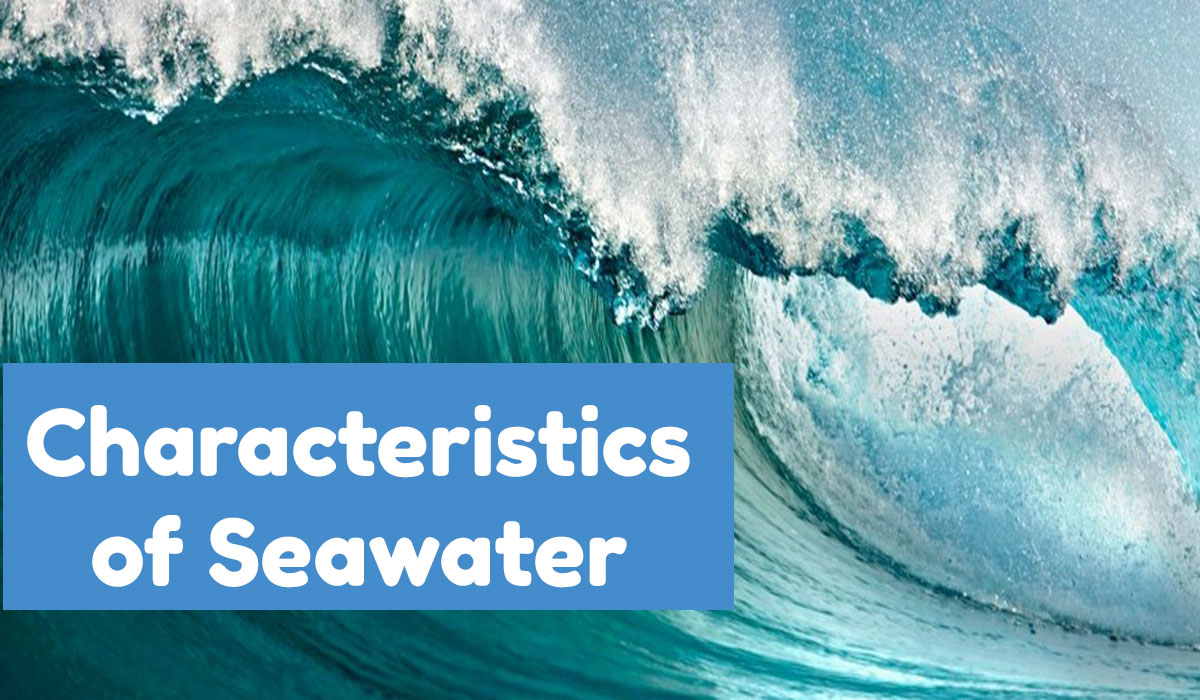 seawater ro plant, characteristics of seawater, concept of seawater