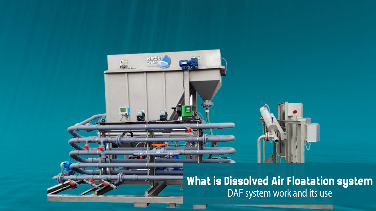 Dissolved Air Floatation system, daf system in wastewater, how daf work, daf uses in water treatement