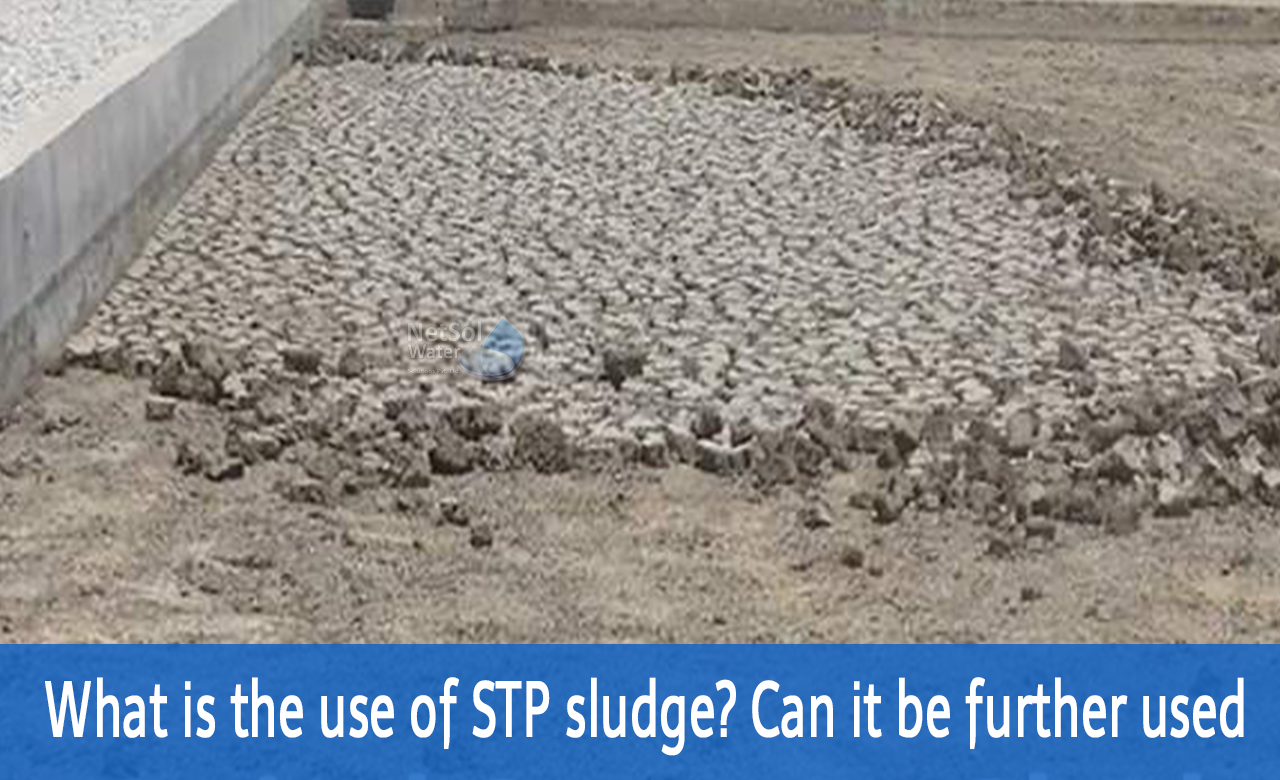 stp sludge, use of stp sludge, what is the use of waste generated by sewage treatment plant